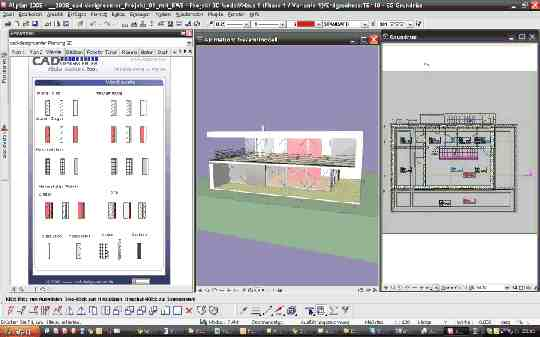 cad-designcenter Assistenten in Allplan 2008